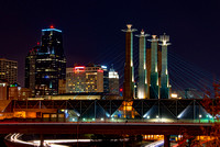 Kansas City Urban Icons at night-4158